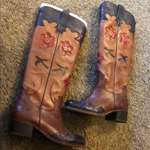 Lucky Brand Holly Western Boots